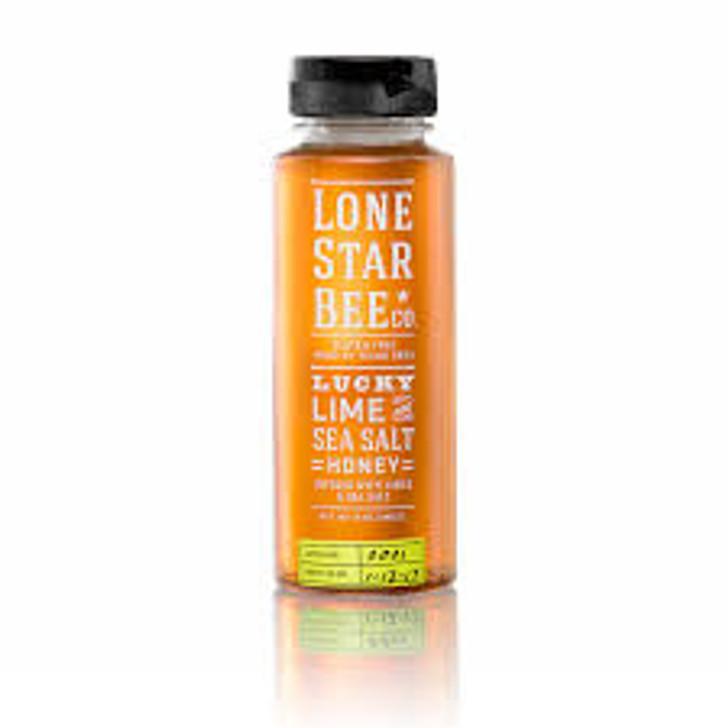 Lone star bee co. Lucky lime sea salt honey