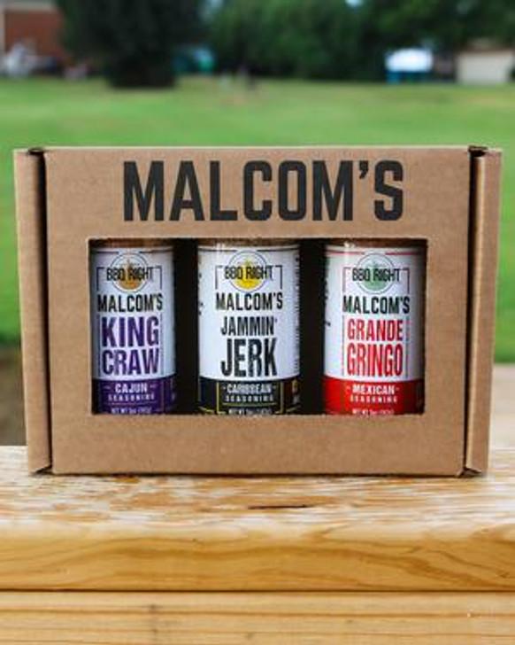 Malcom's Seasoning 3-Pack Gift Box