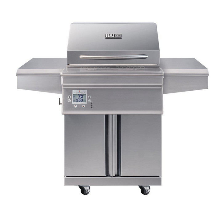 Memphis Grills Beale Street Wi-Fi Controlled 26-Inch 430 Stainless Steel Pellet Grill - BGSS26