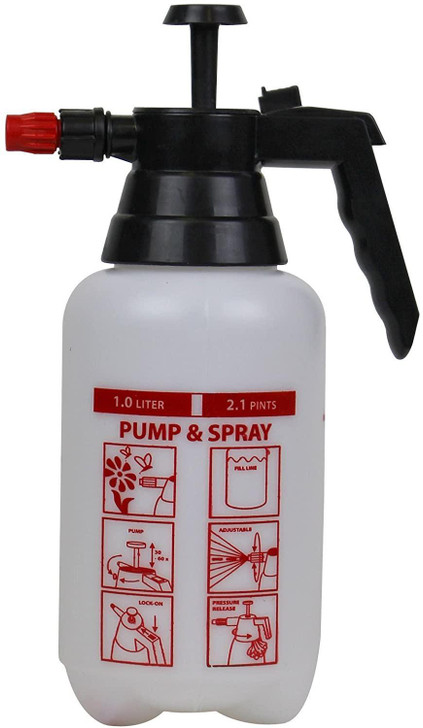 "Solo 415 1-Liter One-Hand ""Spritzer"" Pressure Sprayer with Locking Trigger"