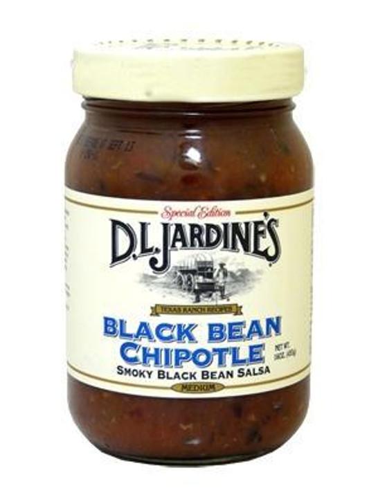 D.L. Jardine's Black Bean Chipotle Salsa - Special Edition