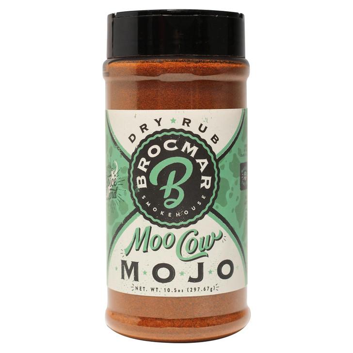 Brocmar Moo Cow Mojo – Craft BBQ Rub / Seasoning – Pitmaster Shaker Bottle