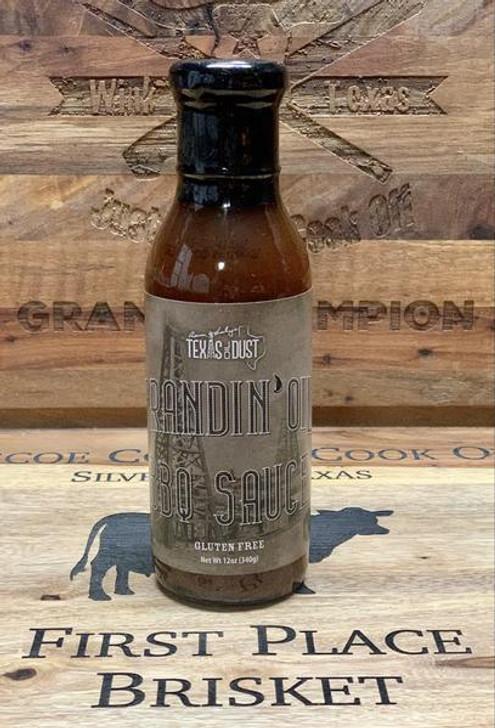 Texas Oil Dust Brandin' Oil BBQ Sauce