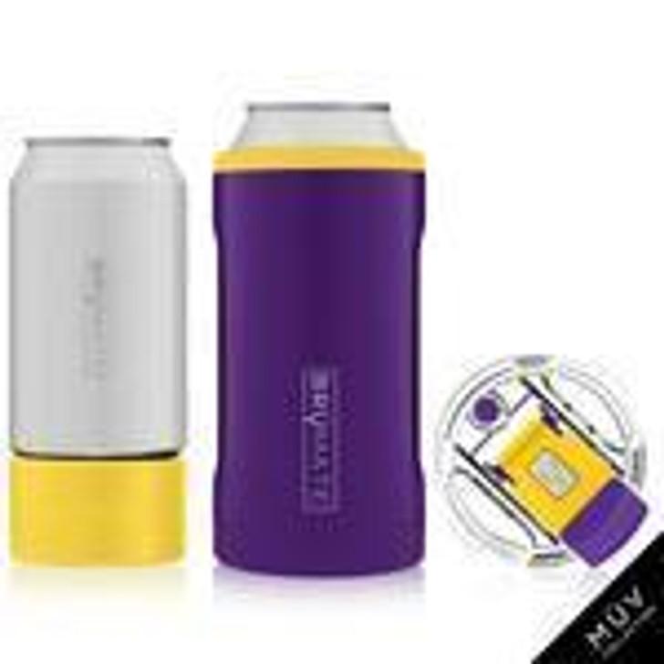 Brumate Hopsulator Trio Purple & Yellow