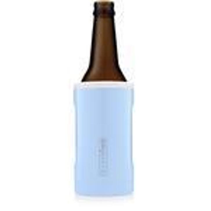 Brumate Hopsulator Bott'l Light Blue & White