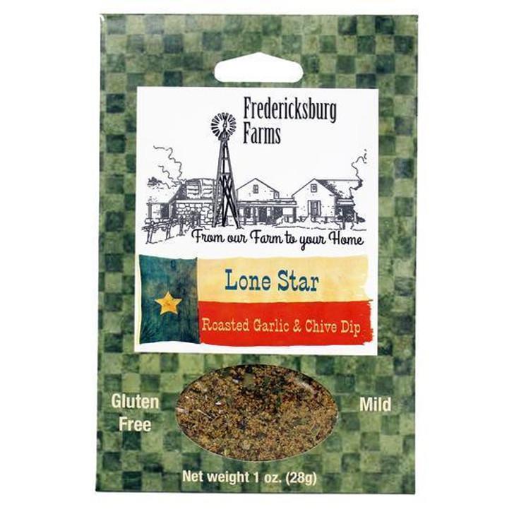 Fredericksburg Farms Lone Star Roasted Garlic & Chive Dip