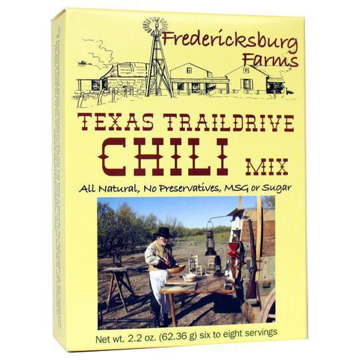 Fredericksburg Farms Texas Trail Drive Chili Mix