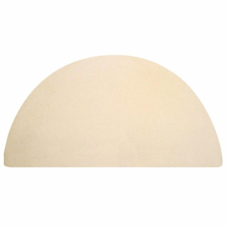 Big Green Egg Half Moon Pizza & Baking Stone for Medium EGG