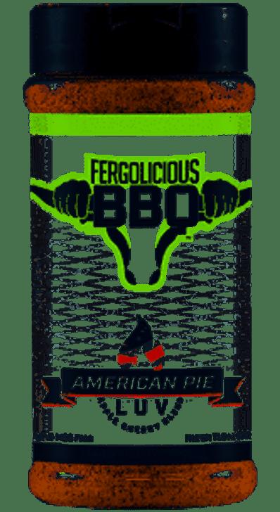 Fergolicious American Pie Luv Rub Apple Cherry Blend