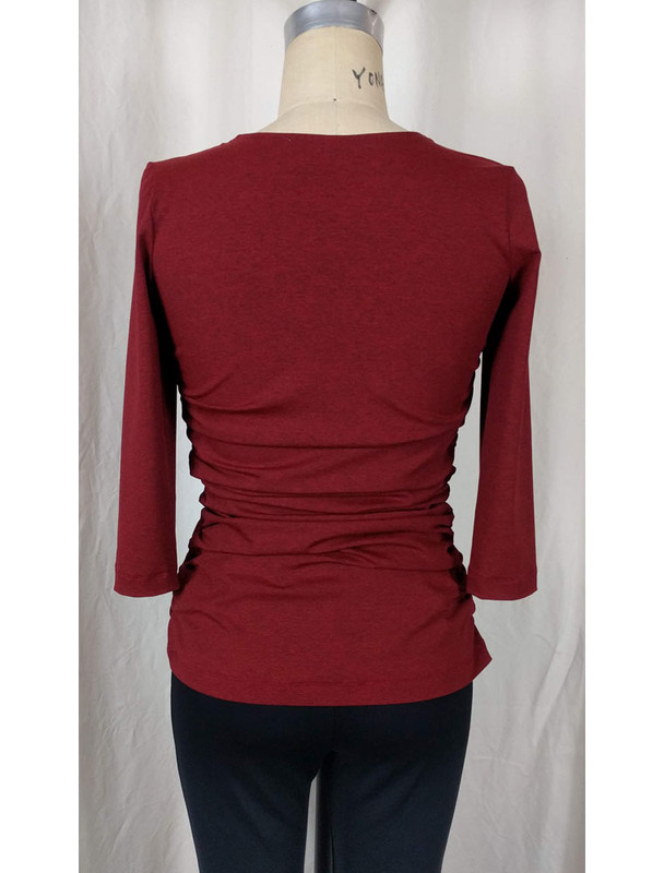 Rhodes Rusched Top Back