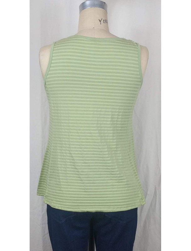 Kleen Pear Stripe Tank Back