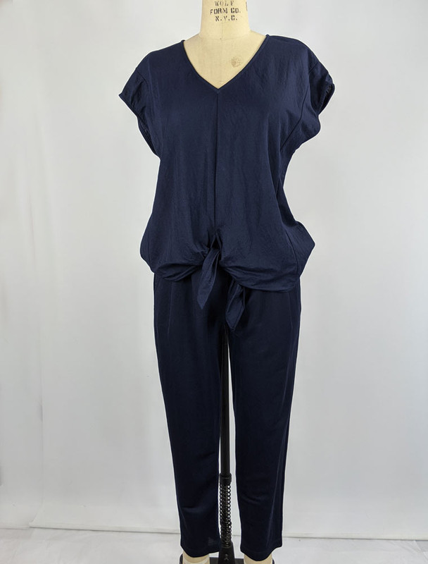 Outfit with COA top, front