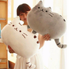 40*30cm Pusheen Cat Pillow Cover With Zipper Only Skin Without Cotton Filling