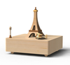 HANDMADE WOODEN PARIS MUSIC BOX
