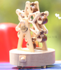 Handmade Wooden Ferris Wheel Music Box