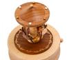 Handmade Wooden Merry Go Round Music Box