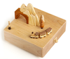 Handmade Wooden Cave & Train Music Box
