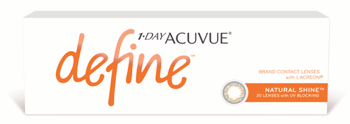 1-Day Acuvue Define with Lacreon (Natural Shine) (30pcs)