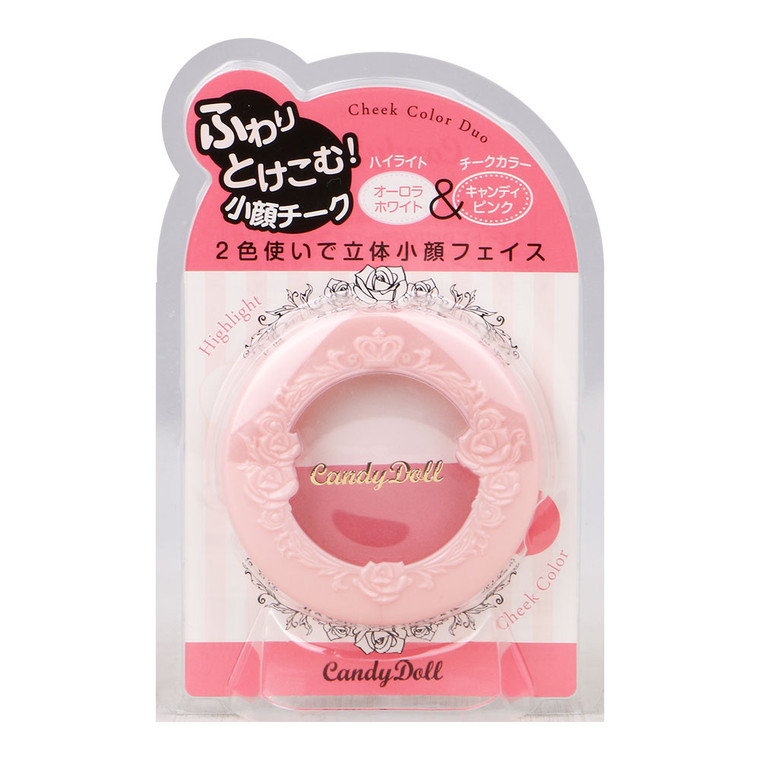 Candydoll Cheek Color Duo Candy Pink
