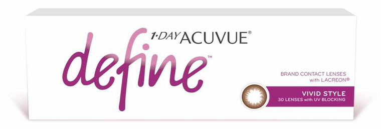 1-Day Acuvue Define with Lacreon (Vivid Style) - (30pcs)