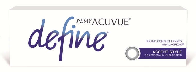 1-Day Acuvue Define with Lacreon (Accent Style) (30pcs)