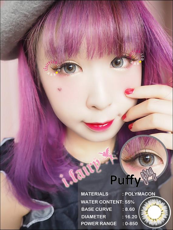 I.Fairy Puffy Grey *New