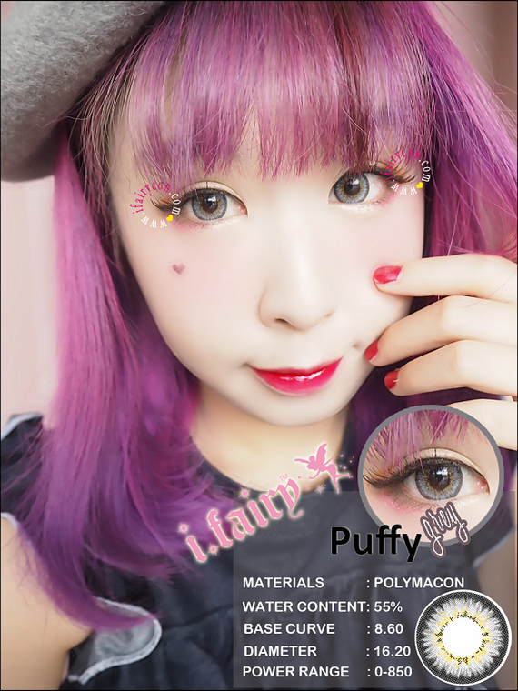 I.Fairy Puffy Grey *New