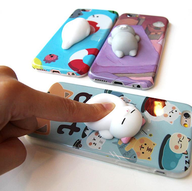 Squishy Cat iPhone 6S/ 6Plus / iPhone 7 Case