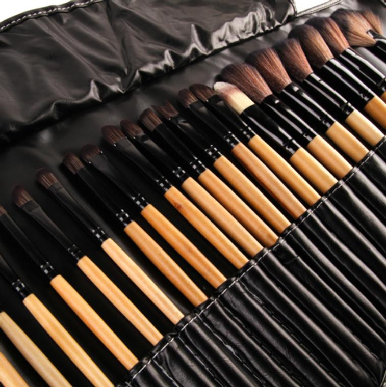 32Pcs  Makeup Brushes Professional Cosmetic Make Up Brush Set ( Free Shipping )