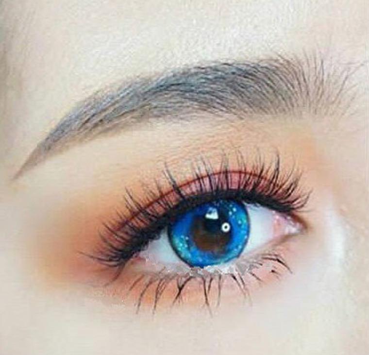 Sweety Galaxy Blue Lens