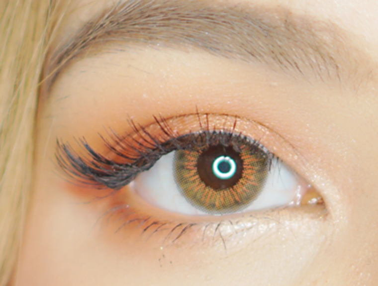 Candy Glow Brown Lens 14.5mm