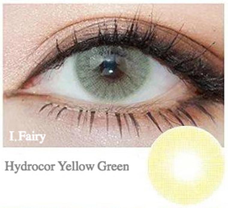 I.Fairy Hydrocor Yellow Green 14.2 mm ( New )