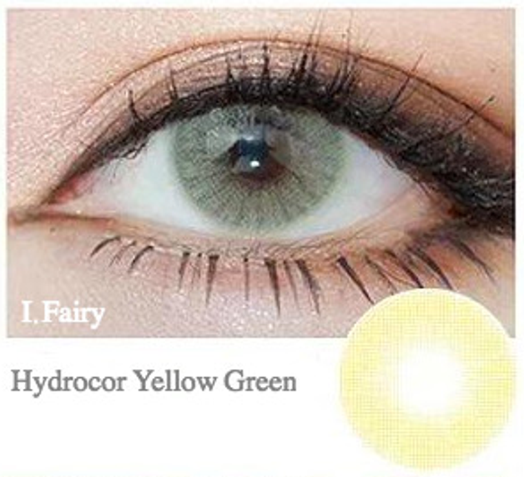 I.Fairy Hydrocor Yellow Green 14.2 mm ( New )