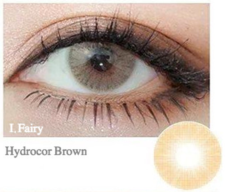 I.Fairy Hydrocor Brown 14.2 mm ( New )