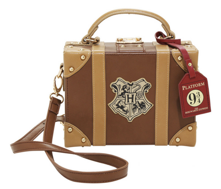 Harry Potter Hogwarts Platform 9 3/4  Suitcase Handbag