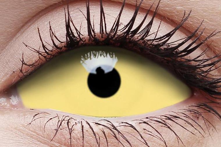 I.Fairy UV Yellow Sclera Lens Amazo 22mm