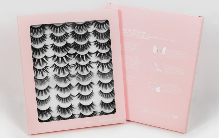 20 Pairs 3D Mink Lashes Natural False Eyelashes