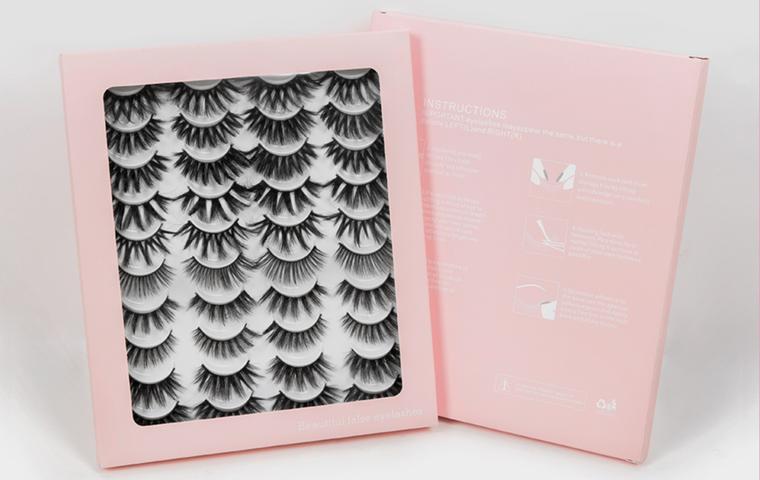 20 Pairs 3D Mink Lashes Natural False Eyelashes