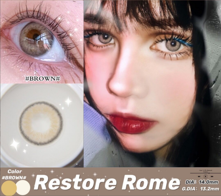 ROME Brown Color Contact Lens