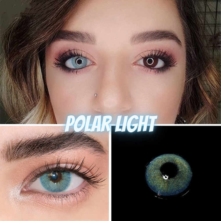 Polar Light Blue Color Contact Lens