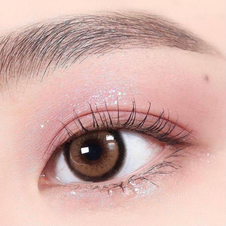 I.Fairy Nanaview Laura Brown 16.2mm Color Contact Lens