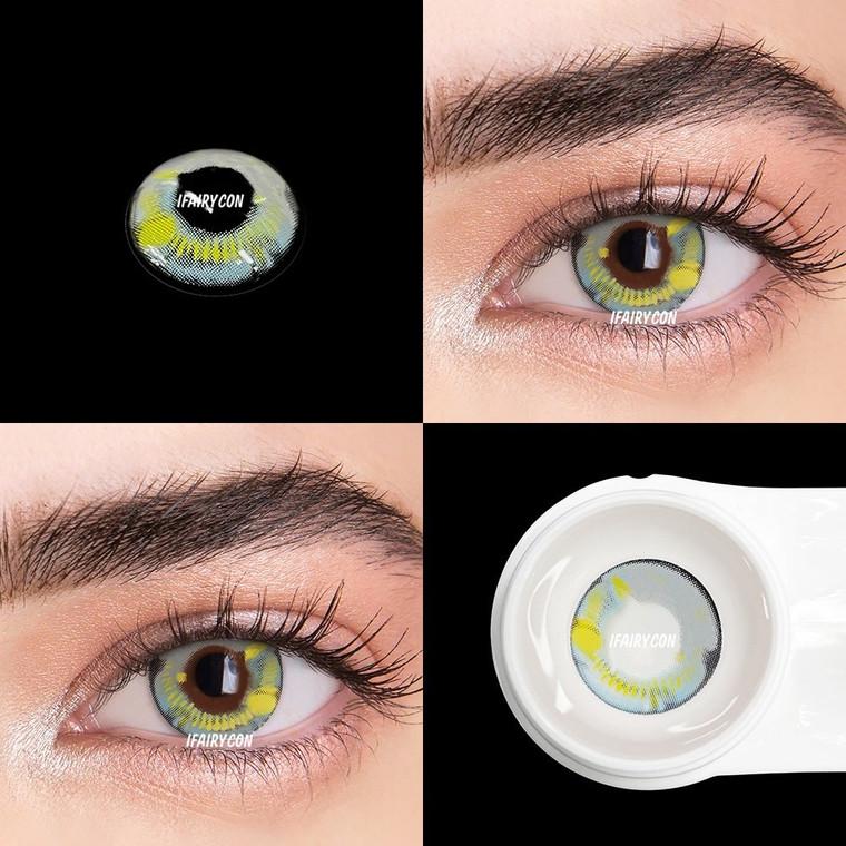 Coscon Anime Grey Color Contact Lens