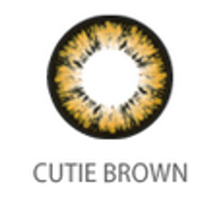 Geo Holicat Cutie Cat Brown XHC504 14.5mm