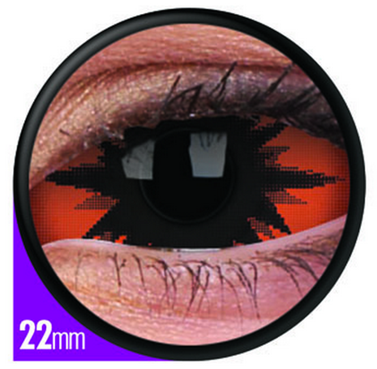 Phantasee Sclera Omega Red Lens 22mm