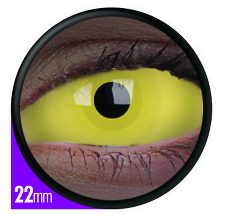 Phantasee Sclera UV Glow Amazo Lens 22mm