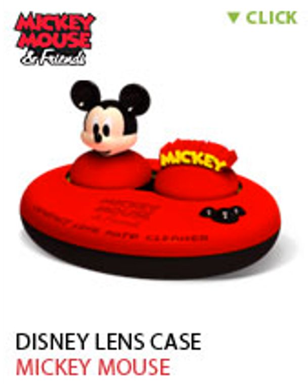 Disney iPool Auto Vibrating Lens Case Cleanser (Mickey)