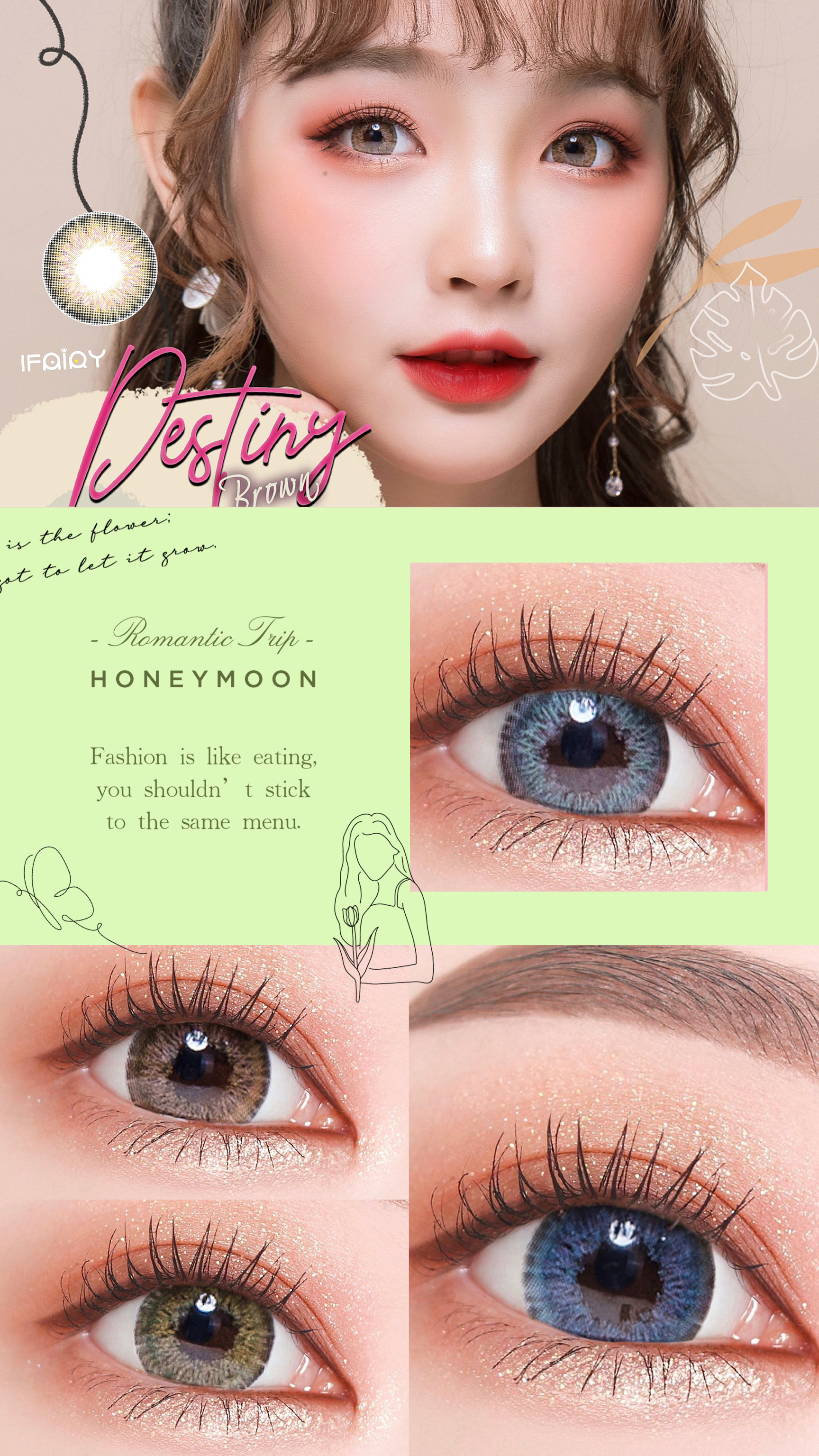 i.fairy destiny , ifairy destiny grey, color contact lens, ifairy destiny color contact lens, ttdeye, pinkyparadise, color contacts