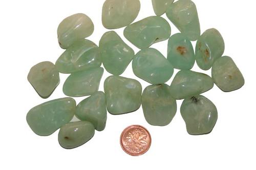 Tumbled Prehnite - Size Medium