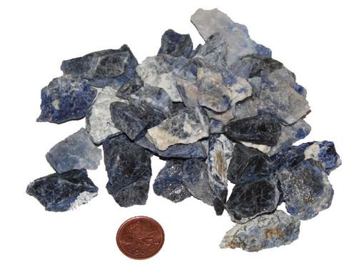 Raw Sodalite Stones - size extra small