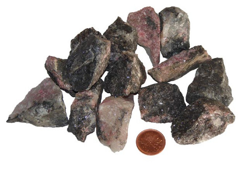 Rhodonite Rough Stones - size Extra large